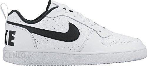 Nike Court Borough Low (GS) biało czarne