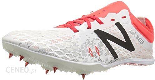d6a35b41 Amazon New Balance damskie buty md800 V5 Spikes LEKKOATLETYKA - biały - 44  EU - zdjęcie