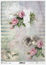 Itd Collection Papier Ryżowy Do Decoupage A4 Itr440