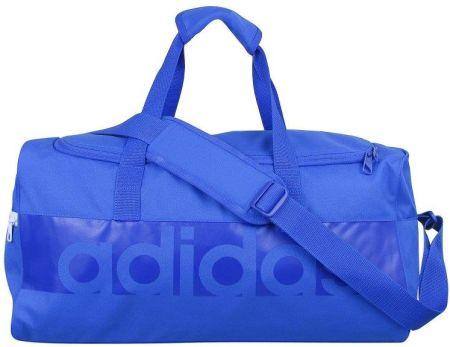 4896377a1576 Adidas Performance LINEAR PERFORMANCE Torba sportowa black white ...