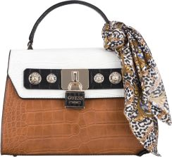 a4815daeb0f750 Guess Anne Marie Handbag Biały Brązowy UNI