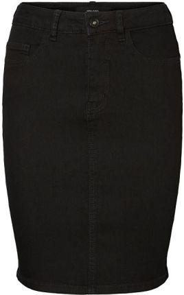 b012e5c92024f Vero Moda Damska spódnica Hot Nine Hw Dnm Pencil Skirt Mix Noos Black (rozmiar  L