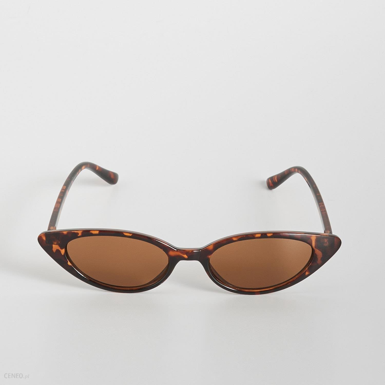 ad434390bc67 Sinsay - Okulary przeciwsłoneczne retro - Brązowy - Ceny i opinie ...