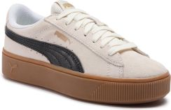 68a801f1 Sneakersy PUMA - Vikky Stacked Sd 369144 04 Whisper White/Puma Black eobuwie