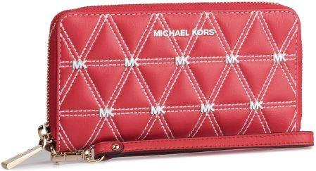 10d3d43dc0c07 Duży Portfel Damski MICHAEL MICHAEL KORS - Wristlets 32S9LFDE3Y Bright Red  eobuwie