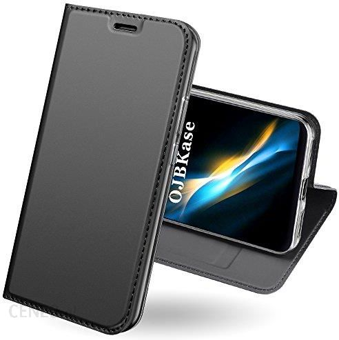 Amazon Xiaomi Redmi 5 Plus Funkcja Ojbkase Premium Slim Sztuczna Skóra Telefon Komórkowy Ochrona Pokrowiec Stand Gniazdo Flash Magnetyczny Pok