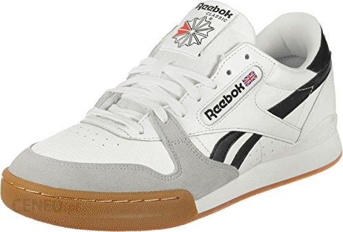 newest 3ca21 58d00 Amazon Reebok Scarpe Sneakers Phase 1 PRO Uomo Bianco  CN3401-WHITE/BLACK/SNOW - - 44.5 eu