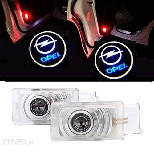 Amazon Huayin 2 Sztuki Oświetlenie Led Oświetlenie Drzwi Samochodu Z Projekcją Logo światło Przy Wejściu Do Pojazdu Ceneopl