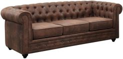 Vente-Unique Sofa 3Osobowa Chesterfield Z Mikrofibry