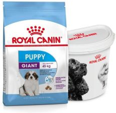 Royal Canin Giant Puppy 15 Kg + Pojemnik