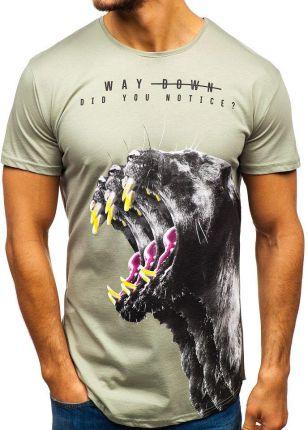 ac1684c9559f T-shirt dla Taty Super Dad szary - Ceny i opinie - Ceneo.pl