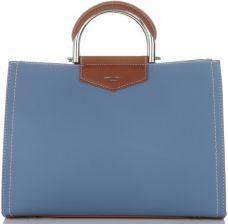 8dc5acf10885f Firmowe Torebki Damskie David Jones klasyczny i pojemny Kuferek w kolorze  Niebieskim (kolory) ...