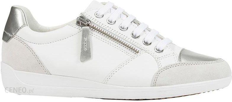 Geox Damskie sneakersy Myria B White D8468B 08522 C1001 (rozmiar 42) Ceny i opinie Ceneo.pl
