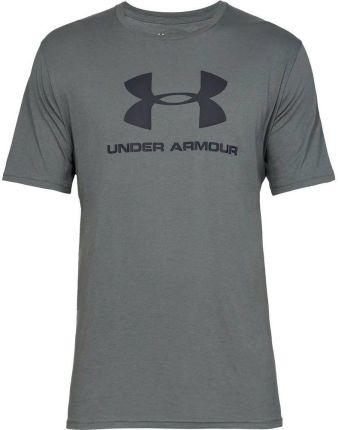 1fc42c67de93f Koszulka męska Sportstyle Logo Under Armour (pitch gray)