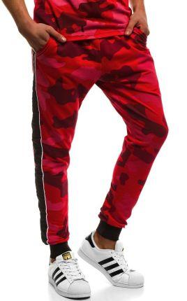 promo code 5d4ff fb98c MECH2072SP Spodnie Dresowe Męskie Czerwonexl Allegro