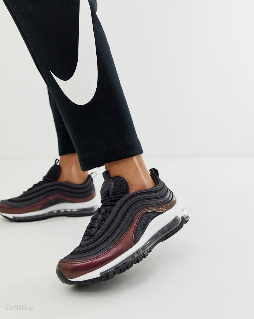 Nike Air Max 97 Premium Trainers In Black Black Sneakersy damskie czarne w Asos
