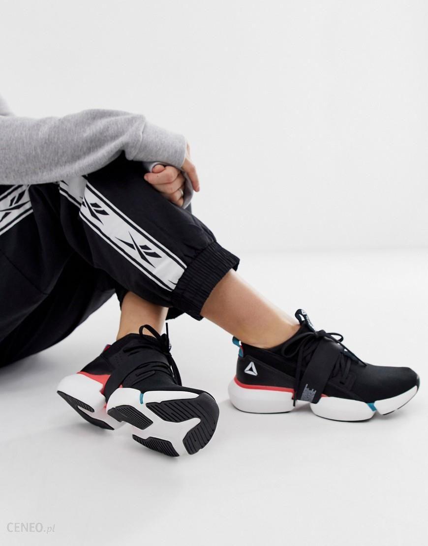 Reebok Training Split Flex Trainers In Black With Colour Pops Black