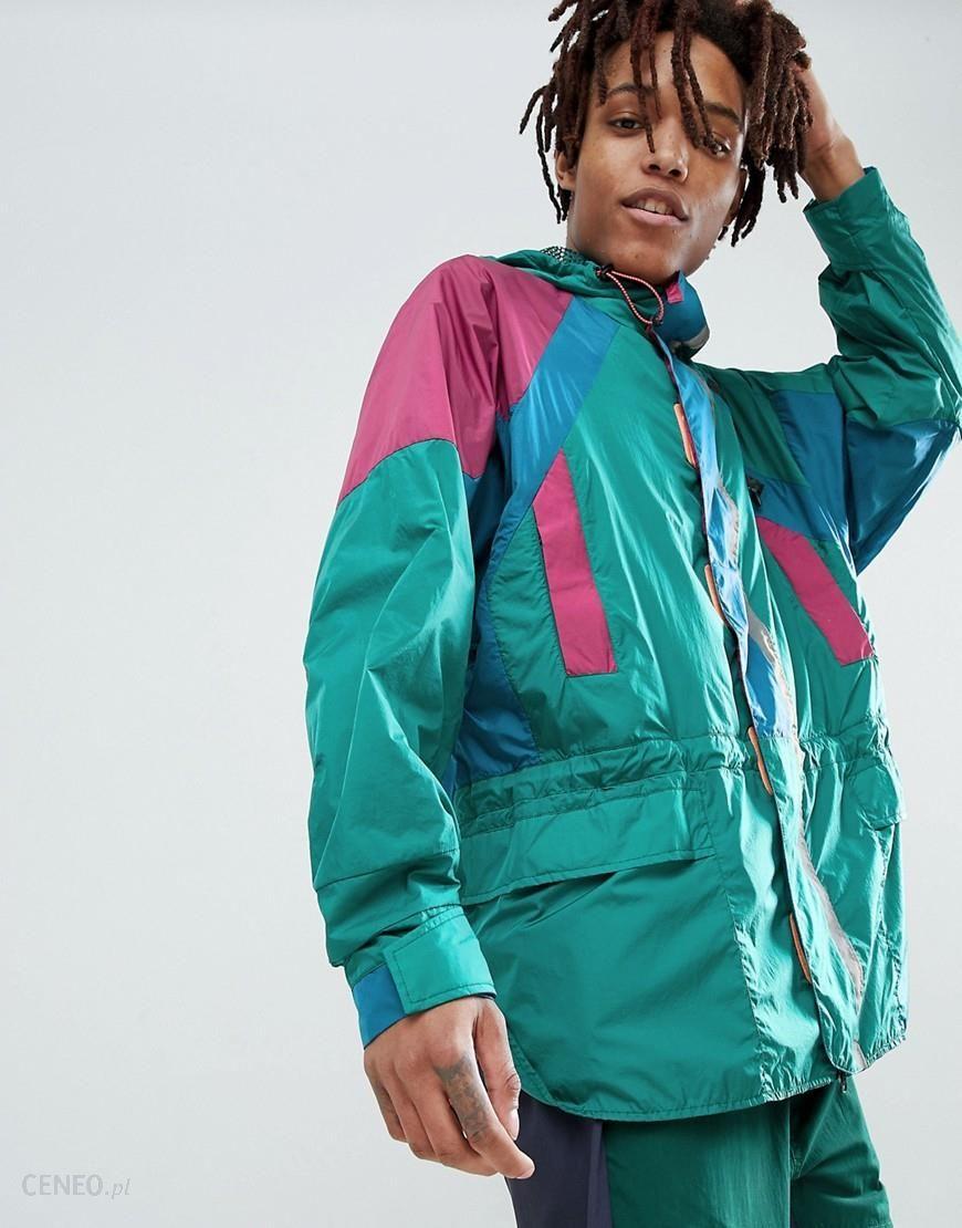 Adidas Originals Atric Retro Hooded Jacket In Green CD6809 Green