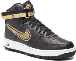 Nike Air Force 1 Mid – Black – Metallic Gold – White