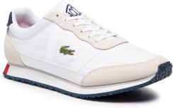 898b93aab Sneakersy LACOSTE - Partner 119 1 Sma 7-37SMA0043407 Wht/Nvy/Red eobuwie