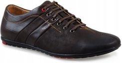d64b417e4efd3 Brązowe męskie półbuty casual buty WF931-3 43 - Ceny i opinie - Ceneo.pl