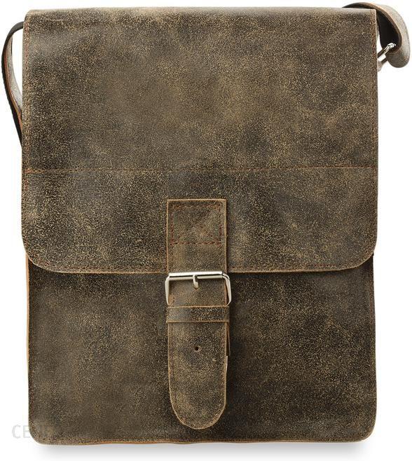 680f9f6648910 Męska torba na ramię listonoszka retro skóra naturalna - camel - zdjęcie 1