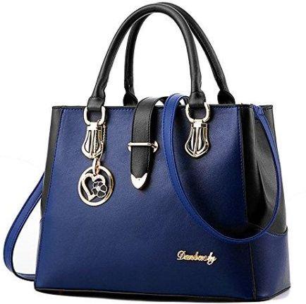936ce84184d52 Amazon BestoU damska torebka czarna duża torebka skóra nowoczesna damska  torebka duża torba na ramię damska