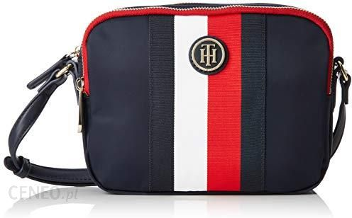 4baa130250162 Amazon Tommy Hilfiger damska torba na ramię Poppy Crossover Stp, niebieska  (Corporate),