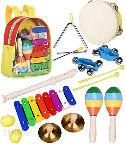 Amazon Smarkids dziecięce instrumenty muzyczne, zabawki, zestaw instrument do gry w piłkę, zabawka muzyczna dla dzieci, nauka przedszkolna, zabawka pe