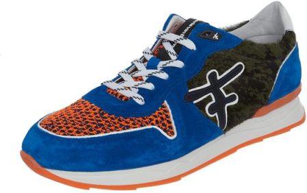 1ac72454d05ee Floris Van Bommel Sneakersy ze skóry welurowej i siateczki Peek &  Cloppenburg. Buty sportowe męskie Floris ...
