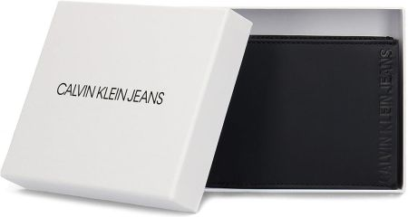 d18c5ee33b15f Calvin Klein Jeans Logo Pop Billfold Coin - Portfel Męski - K50K504584 001