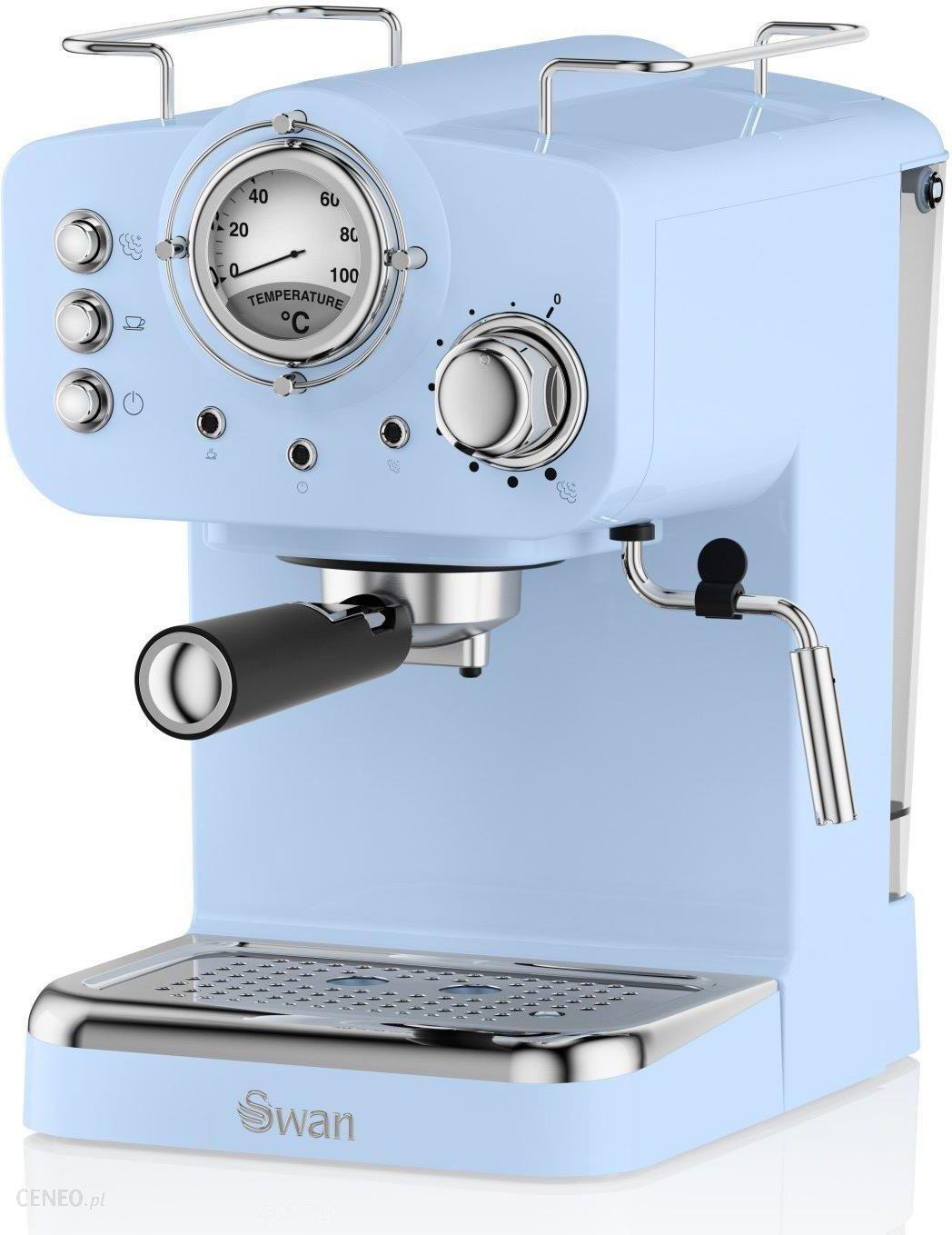 Swan Pump Espresso Blue