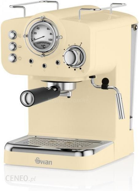 Swan Pump Espresso Cream