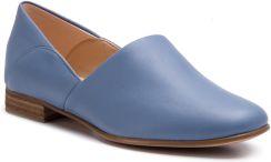 799601bc1dc8f Półbuty CLARKS - Pure Tone 261396354 Mid Blue Leather eobuwie