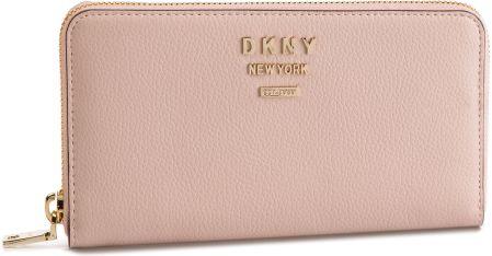 6c253070e222a Duży Portfel Damski DKNY - R911HB03 Iconic Blush 3IB eobuwie