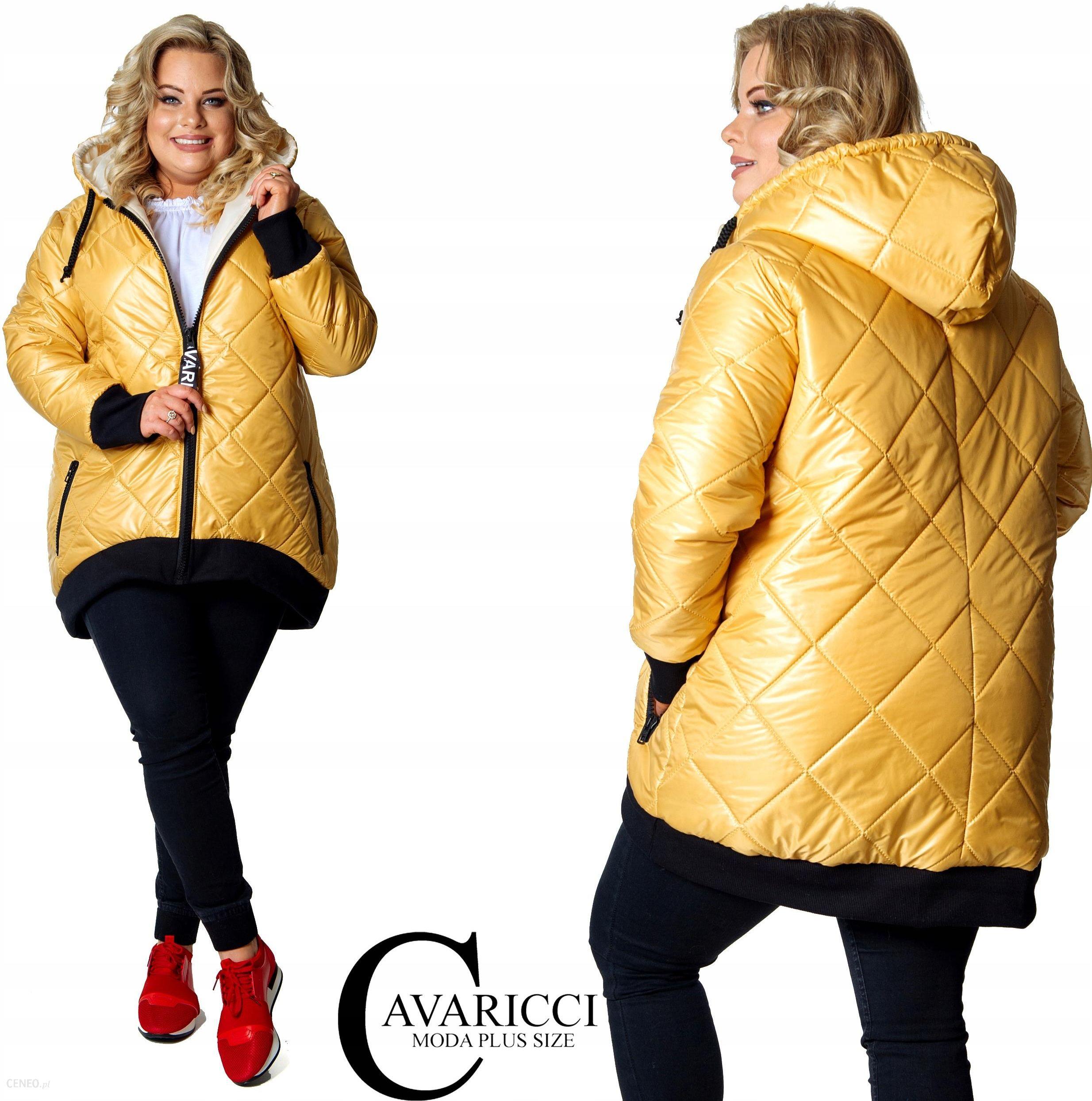 asymetryczna kurtka zimowa plus size