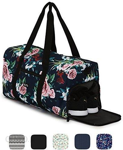6574256ce002a Amazon Ela Mo elegancka torba sportowa z przegrodą na buty | 38 litrowa, na  bagaż