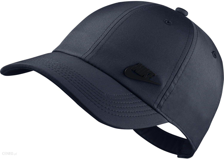 Czapka z daszkiem Sportswear NSW Futura Heritage 86 Nike (granatowa) Ceny i opinie Ceneo.pl