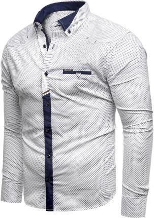d914c60d4 Koszula męska długi rękaw rl07 - Biała