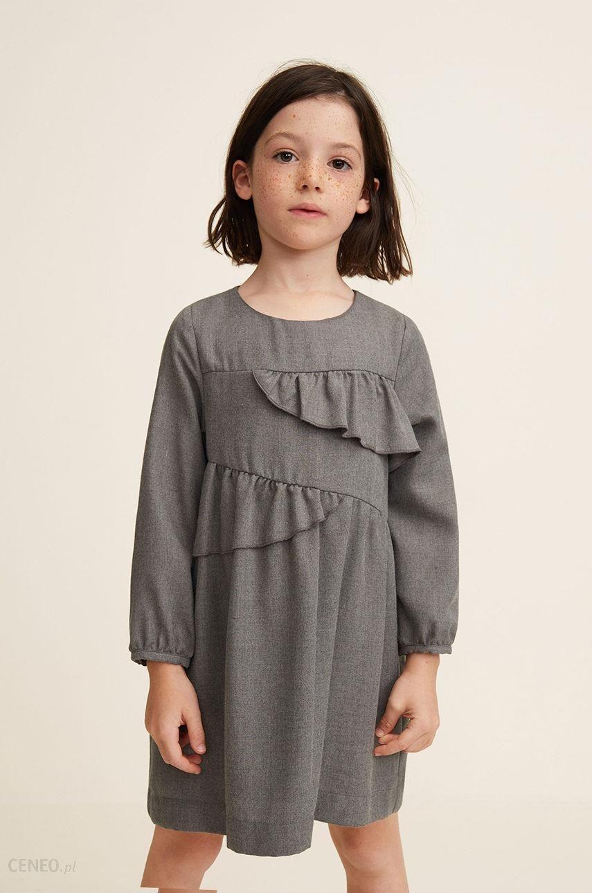 082f36bf29 Mango Kids - Sukienka dziecięca Miryam 110-152 cm - Ceny i opinie ...