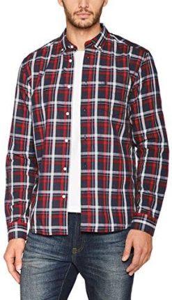 98bd72ac273505 Amazon Wrangler męska koszula na czas wolny długi rękaw button down koszula  - krój regularny xl