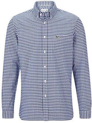 da02e0a22 Amazon Lacoste ch5810 męska koszula koszula z długim rękawem, mężczyźni dla  rozrywki i biznesu,