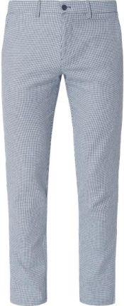 42b4ce86203dd Spodnie do garnituru o kroju slim fit z mieszanki bawełny i lnu ...