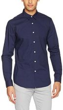 Amazon Sisley koszula męska Business Shirt krój regularny  bmGvW