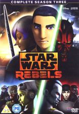 Star Wars Rebels Season 3 (Gwiezdne Wojny: Rebelianci Sezon 3) (EN) [4DVD]