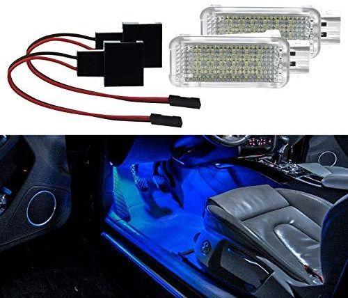 Amazon 2 X Oświetlenie Przestrzeni Nóg Led Smd Moduł Niebieski Do Golf 5 6 7 Polo 6r 6c Leon A1 A3 A4 B6 A4 B7 A4 B8 A5 A6 C6 A6 C7 A8 4e Ceneopl