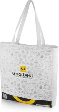"""Gearbest 5th Anniversary Customized Shopping Gift Bag -  White"""