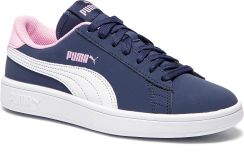 Sneakersy PUMA Smash V2 Buck Jr 365182 09 PeacoatPuma WhitePale Pink