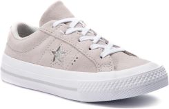 29a5499abacf2 Tenisówki CONVERSE - One Star Ox 663589C Mouse/Mouse/White eobuwie