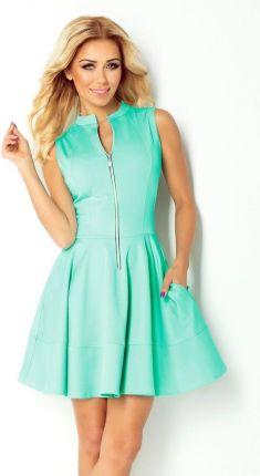 05c3513a19 Szara dopasowana sukienka z szerokim golfem T191 - Ceny i opinie ...